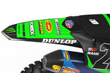 MATT GRAPHICS KIT FOR KAWASAKI ''DARKNESS GREEN'' DESIGN
