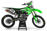 GRAPHICS KIT FOR KAWASAKI ''FINISH'' DESIGN