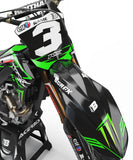 GRAPHICS KIT FOR KAWASAKI ''FORSA'' DESIGN