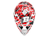 HELMET GRAPHICS KIT ''Camo Red'' DESIGN
