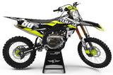 YAMAHA GRAPHICS KIT FLUO ''ACE'' DESIGN