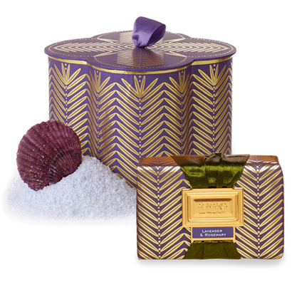 Lavender & Rosemary Agraria Luxury Bath Salts & Bath Bar