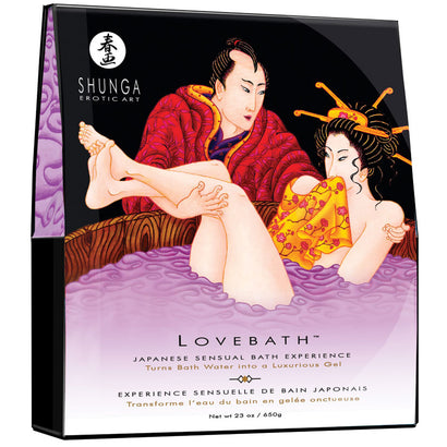 Lotus Shunga Love Bath Salts  - Sensual Japanese Bath Experience