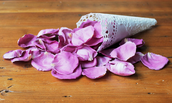 Freeze Dried LILAC Rose Petals, PERFECTLY PRESERVED