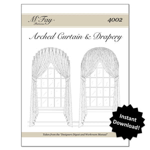 Arched Curtain Drapery