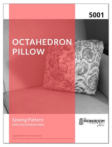 (5001) Octahedron Pillow