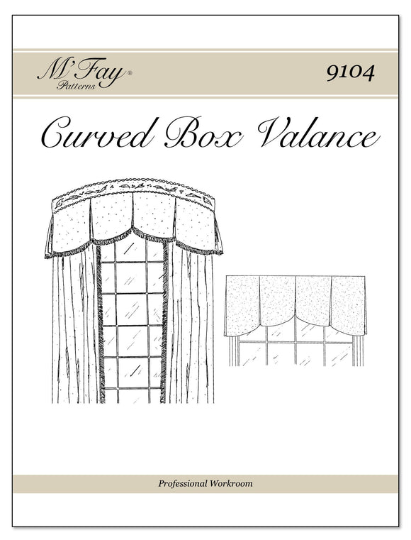 Curved Box Valance
