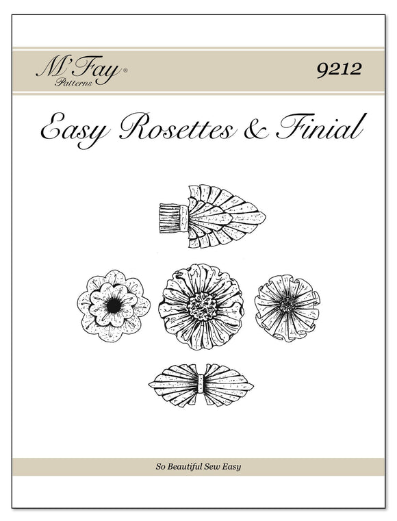 Easy Rosettes & Finial