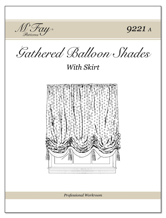Gathered Balloon Shades With or Without Skirt