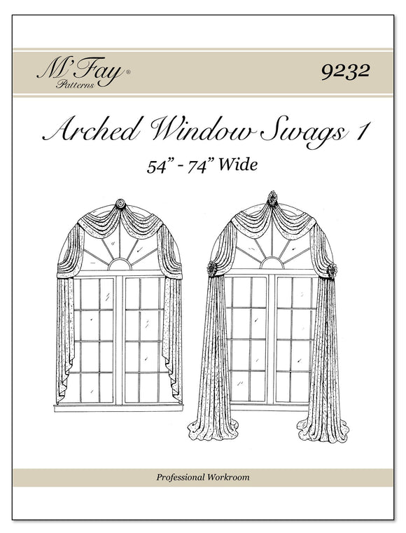 Arched Window Swags I