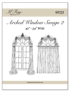 Arched Window Swags II