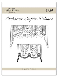 Elaborate Empire Valance