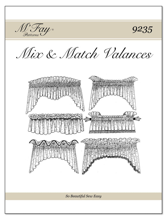 Mix and Match Valances I