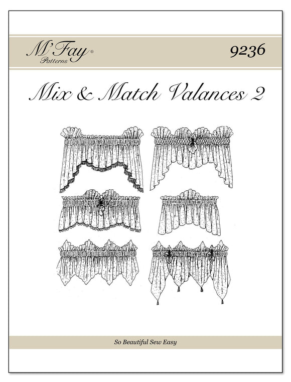 Mix and Match Valances II