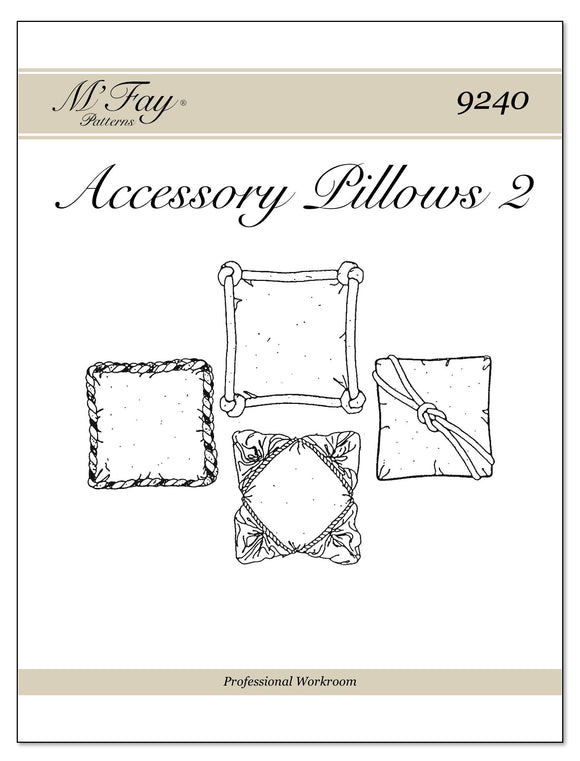 Accessory Pillows II