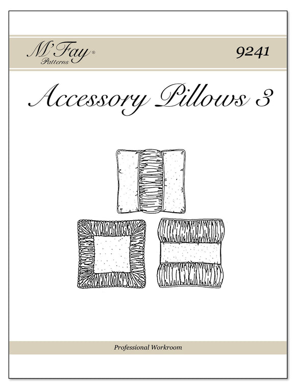 Accessory Pillows III
