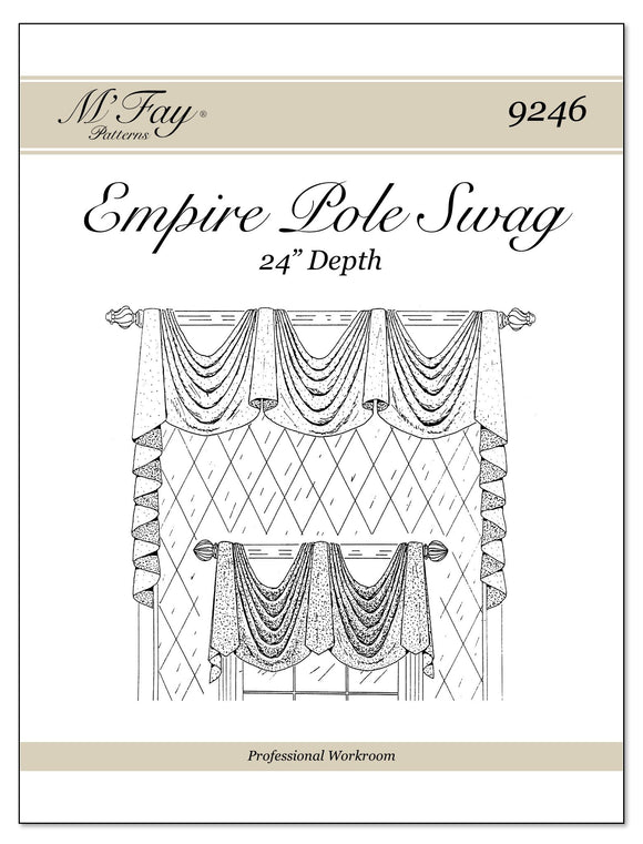 Empire Pole Swag 24