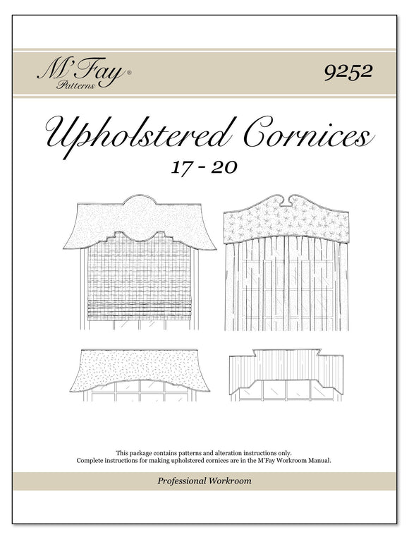 Upholstered Cornices 17-20