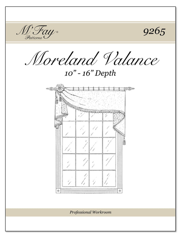 Moreland Valance 10Ó to 16Ó Depth