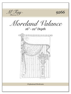 Moreland Valance 16Ó to 22Ó Depth