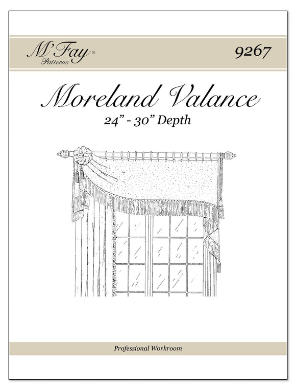 Moreland Valance 24Ó to 30Ó Depth