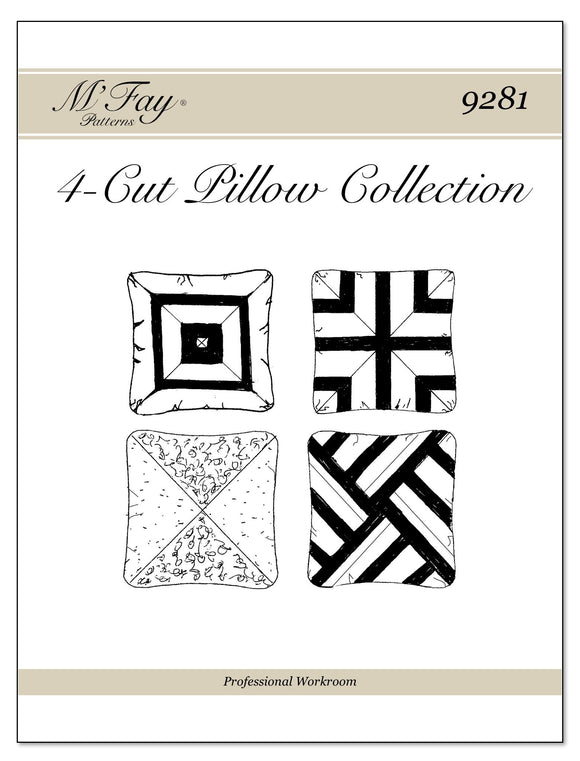 4-Cut Pillow Collection