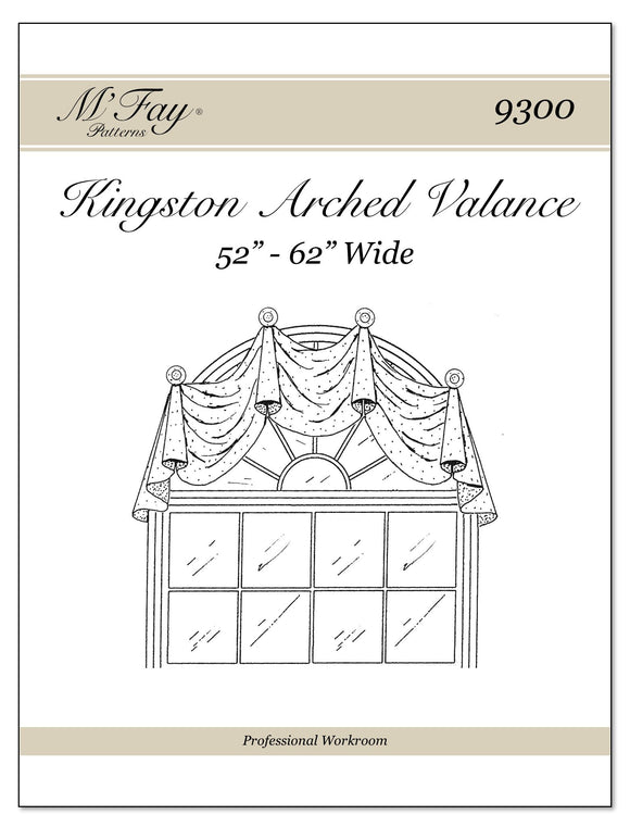 Kingston Arched Valance 52