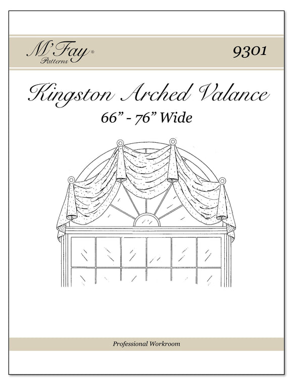 Kingston Arched Valance 66