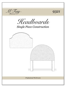 Headboards Single Piece Construction