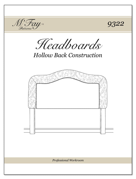 Headboards Hollow Back Construction