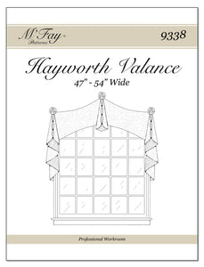 "Hayworth Valance 47"" - 54"" Wide"