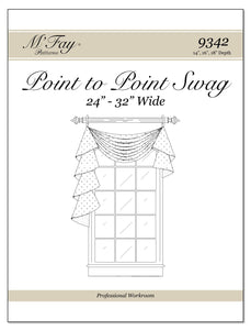 "Point To Point Swags 24""-32"" Width (14"", 16"", 18"")"