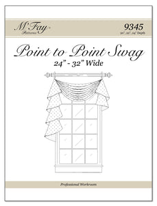"Point To Point Swags 24""-32"" Width (20"", 22"", 24"")"