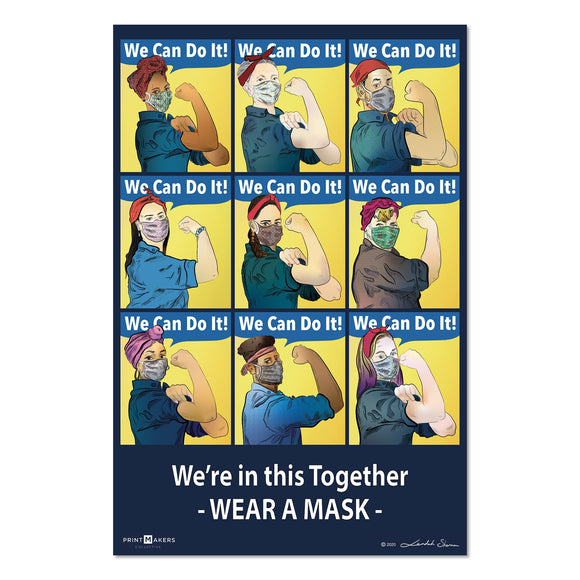 Art Print - We're in this Together