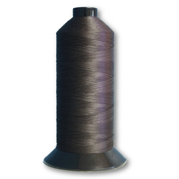 Terko Satin Thread - Charcoal