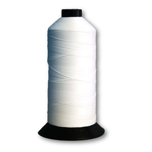 Terko Satin Thread - White