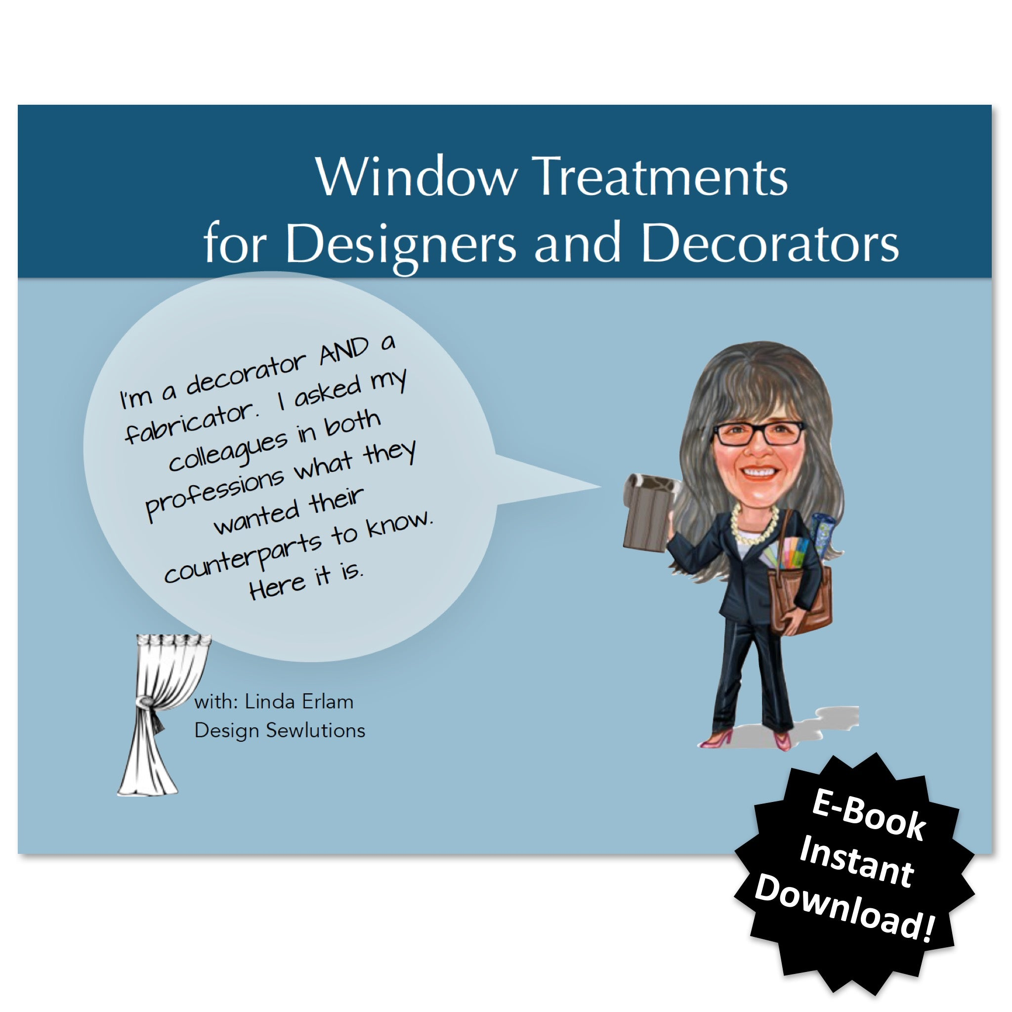 Window Treatments For Designers And Decorators By Linda