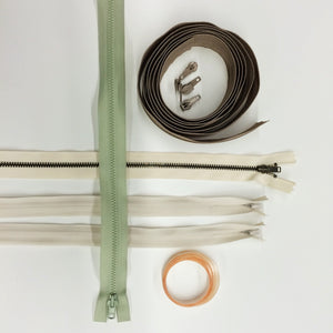 Supply Kit for ZIPPERS IN PILLOWS Course