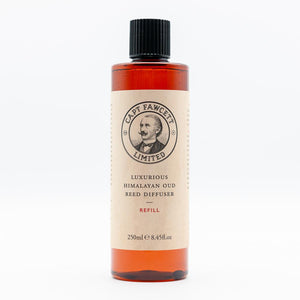 Captain Fawcett's Refill for Luxurious Himalayan Temple Oud Reed Diffuser