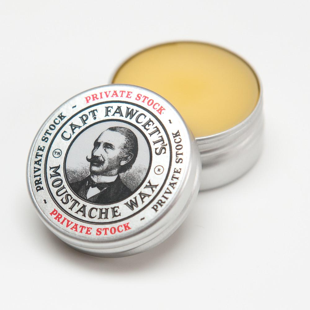Captain Fawcett's Private Stock Moustache Wax