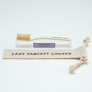 Captain Fawcett's Toothbrush With Natural Bristles