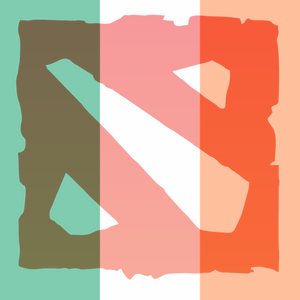 Irish Dota 2 Podcast Logo