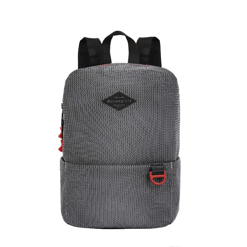 Adaline Backpack (Front) in Life Collection (White/Black)