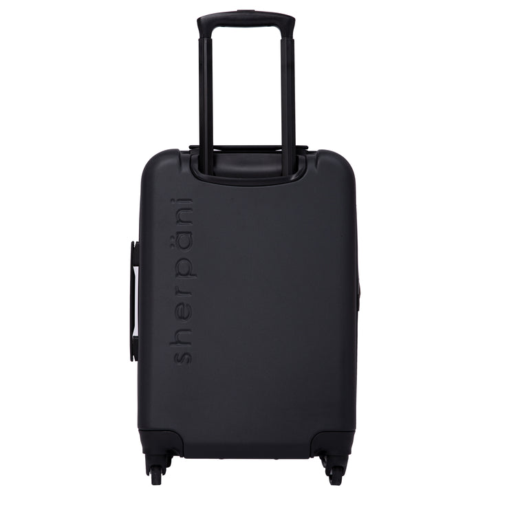 Sherpani Meridian, 22 Inch Luggage, Travel Hardside Luggage, Durable Suitcase, Lightweight Carry On Luggage with Spinner Wheels (Caribe)