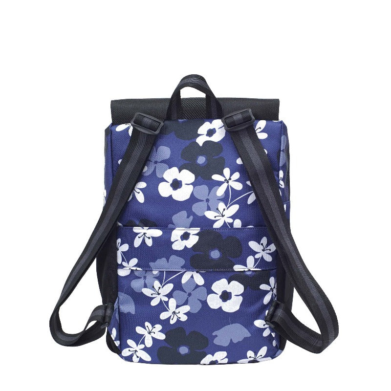 Pace Backpack (Back) in Essentials Collection (Aloha Blue)