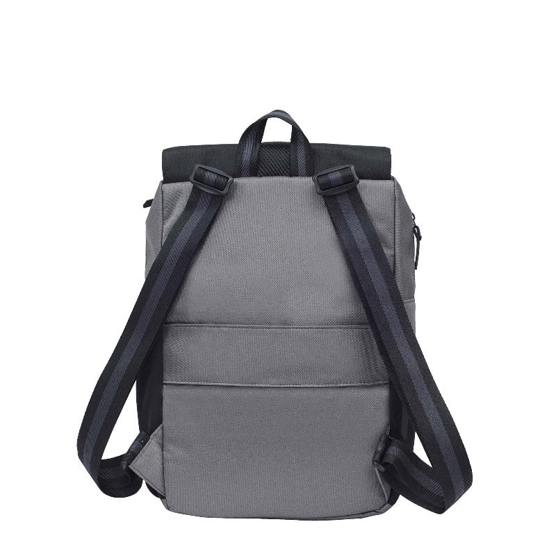 Pace Backpack (Back) in Essentials Collection (Flint)