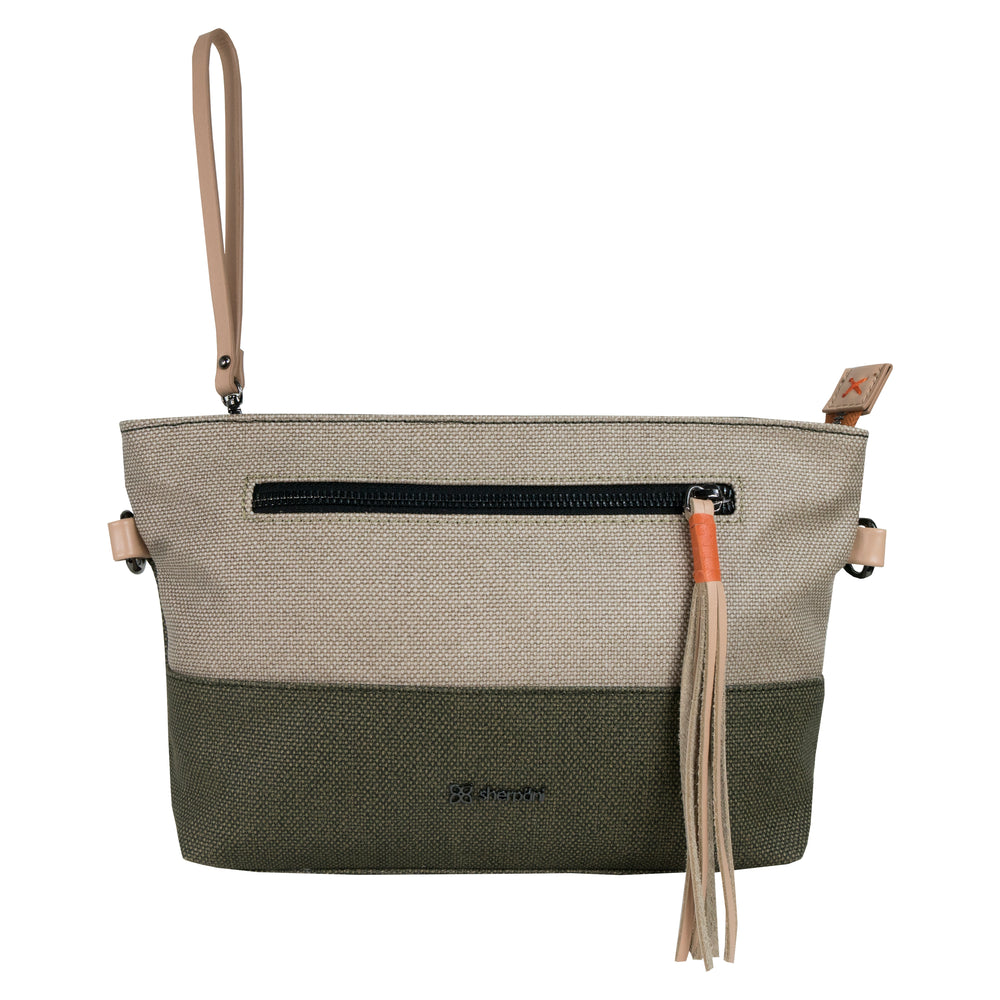 Travel bag, Sherpani bag, crossbody, crossbody bag, shoulder bag, canvas, canvas bag, leather,  women bag, water resistant, green