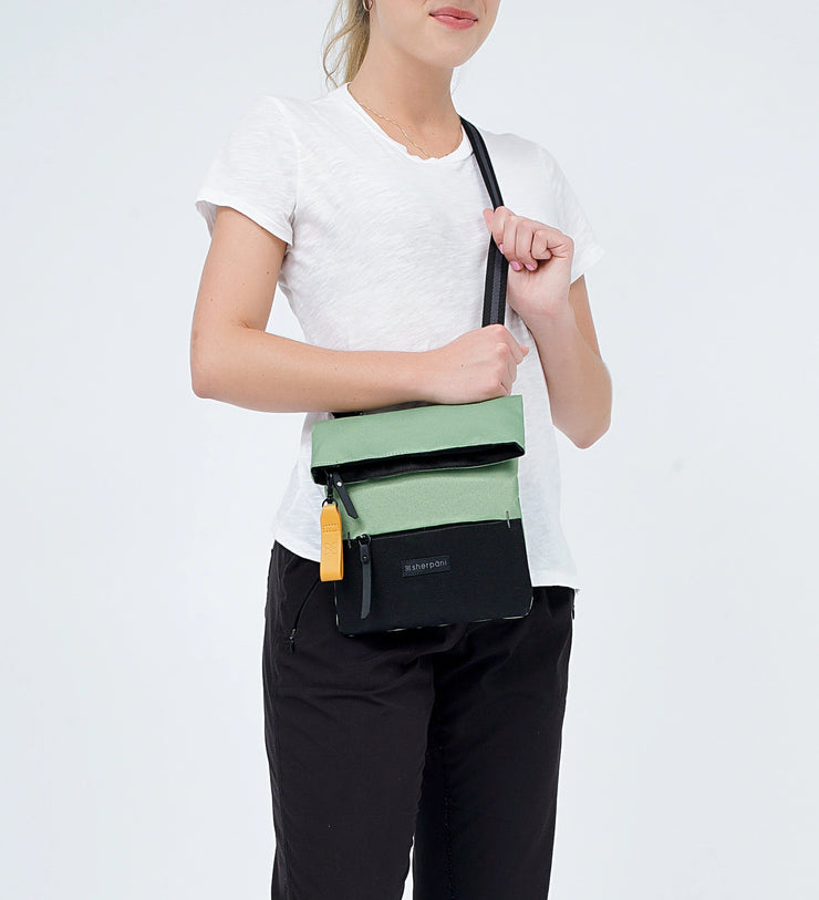 Sherpani Pica, Recycled Nylon Crossbody Bag, Small Crossbody Bag, Crossbody Purse and Shoulder Bag for Women, with RFID Protection (Jaden).