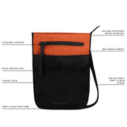 Sherpani Prima, Anti Theft Travel Crossbody Bag, Small Crossbody Purse and Shoulder Bag for Women with RFID Protection