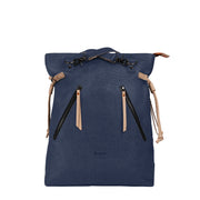 Sherpani Tempest, Everywhere Tote Bag, Backpack for Women, with 15 Inch Laptop Compatible, made from Hand-Painted Canvas (Indigo)